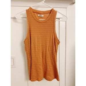 Madewell striped summer tank